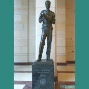 Emancipation Hall - Philo T. Farnsworth Bronze Statue