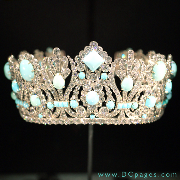 Marie louise diadem napoleon i gave this crown to his consort