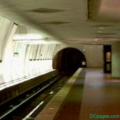 Washington Metro: (surprisingly) empty platform