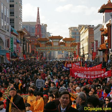 Washington DC Chinese New Year Parade