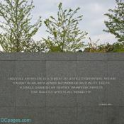 Martin Luther King Jr. Memorial Wall of Quotes