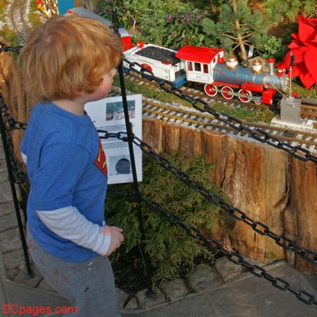 Brookside Gardens Winter Train Display