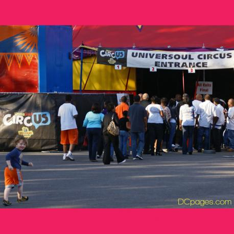 UniverSoul Circus Interactive Experience