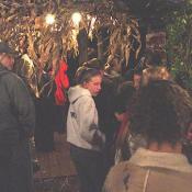 Guests get ready to enter Markoff's Haunted Forest...let the fear begin! Address: 19222 Martinsburg Rd Dickerson, MD 20842  (301) 216-1248