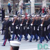 Inaugural Marching Soldiers