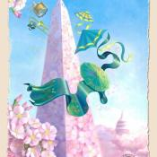 2007 National Cherry Blossom Festival Poster