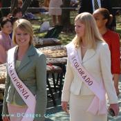 National Cherry Blossom Princesses - California Mary MacLean and Colorado Kathrine Baldwin